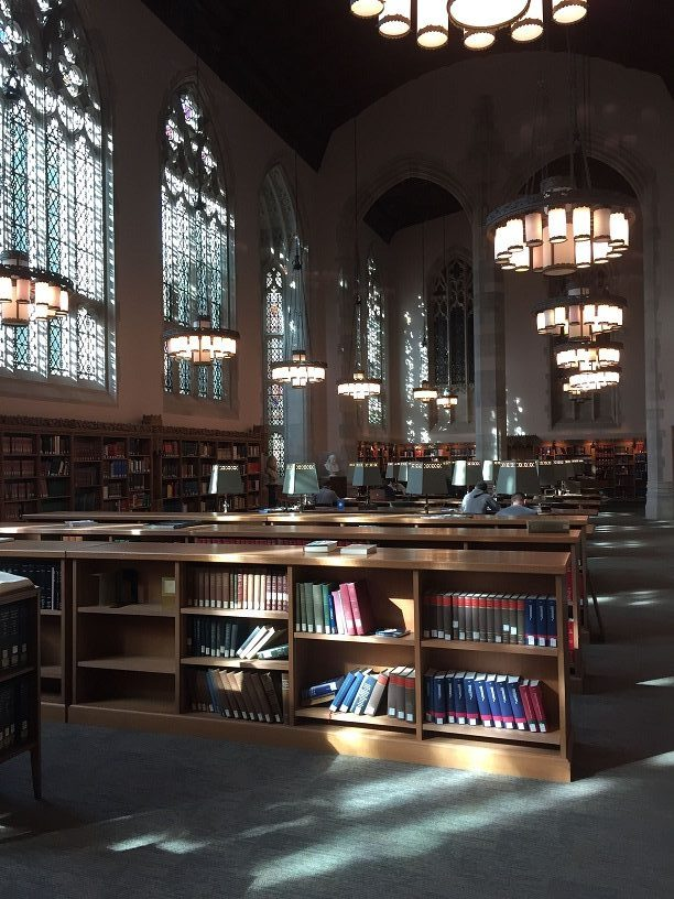 Reading Room, Sterling Memorial Library